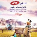 دانلود فایل پوستر تبلیغاتی با موضوع محصولات لبنیاتی و شیر به صورت Psd