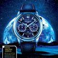 پوستر لایه باز تبلیغاتی با موضوع ساعت با کیفیت بالا و CMYK